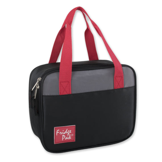 Sac à lunch bicolore Fridge Pack-Rouge-Daily Steals