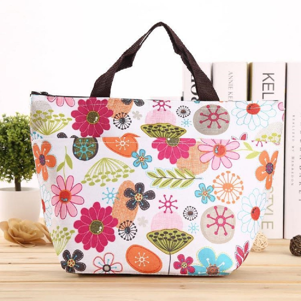 Insulated Lunch Bag – Assorted Styles-Sunflower-Daily Steals