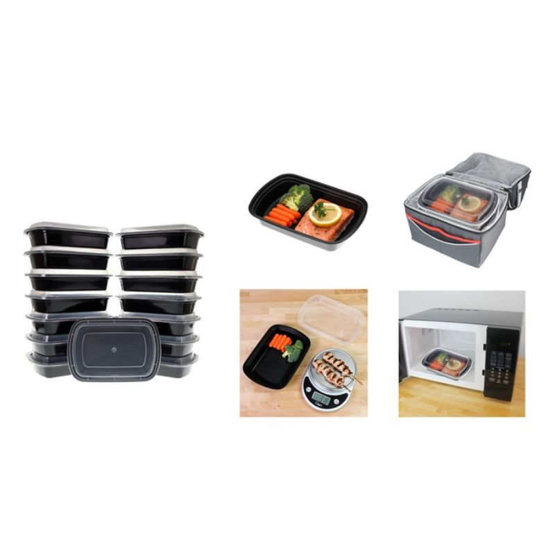 Reusable Food Storage Container Set - 20 or 40 Piece-Daily Steals