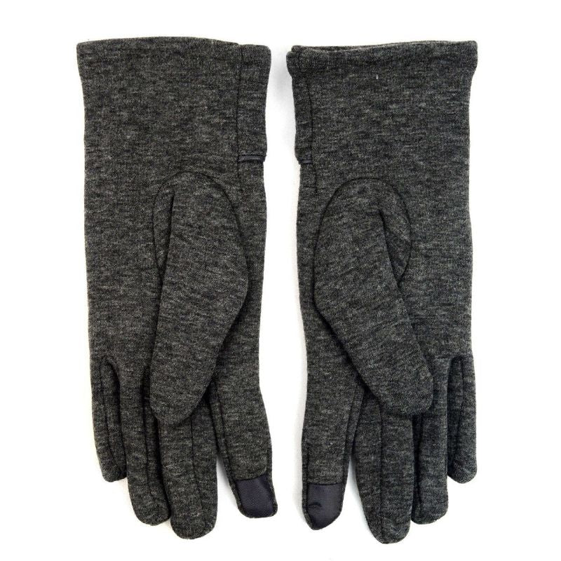 Touch Screen Women's Gloves with Studs Decoration-Charcoal-Daily Steals