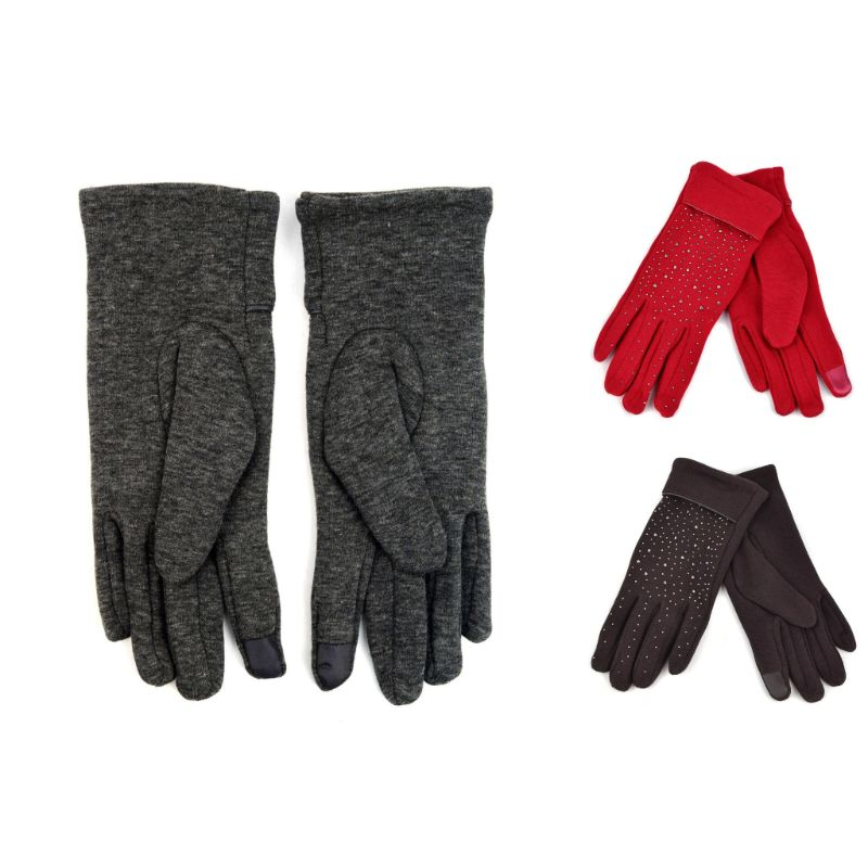 Touch Screen Women's Gloves with Studs Decoration-Daily Steals