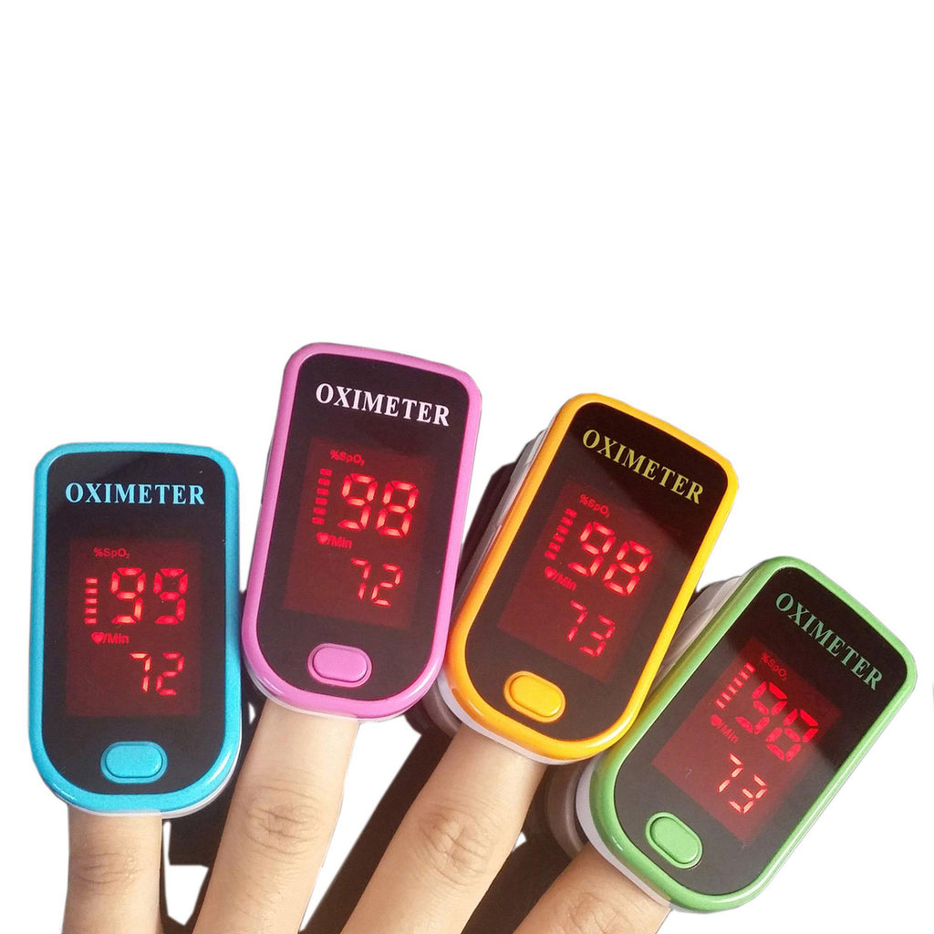 Finger Pulse Oximeter with LED Display-Daily Steals