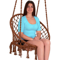 Macrame Hammock Swinging Chair