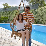 Macrame Hammock Swinging Chair-Daily Steals