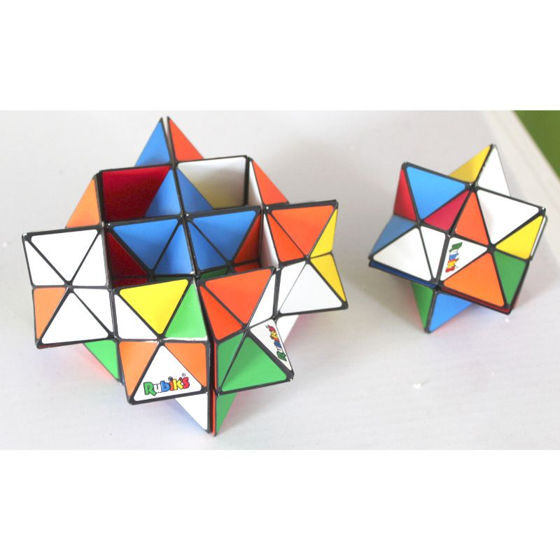 Rubik's 1 Rainbow Ball et 2 Magic Star Set-Daily Steals