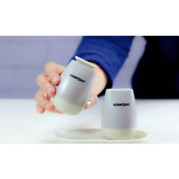 Magnetic Salt and Pepper Shaker Set with Easy Open Close Mechanism-