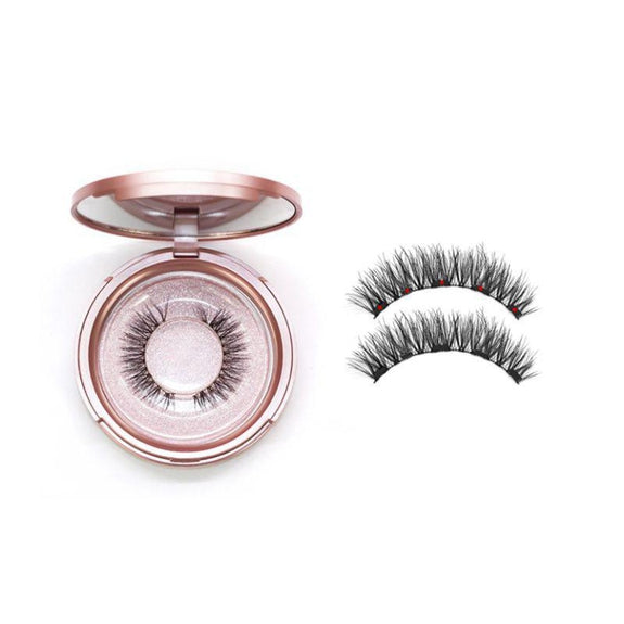 Magnetic Eyeliner with 3D Magnetic Eyelashes & Tweezers Waterproof Kit-Natural-Daily Steals