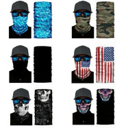 Face Mask and Neck Warmer with Dust and Sun UV Protection for Snowboarding-Daily Steals