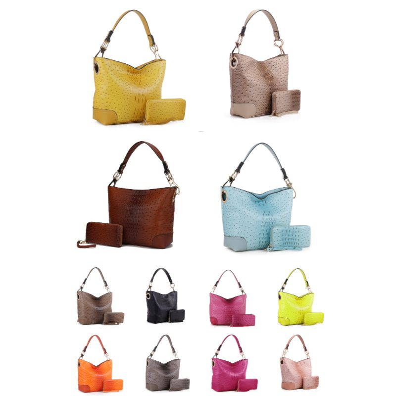 MKF Collection Wandy Hobo Handbag et portefeuille assorti - Daily Steals
