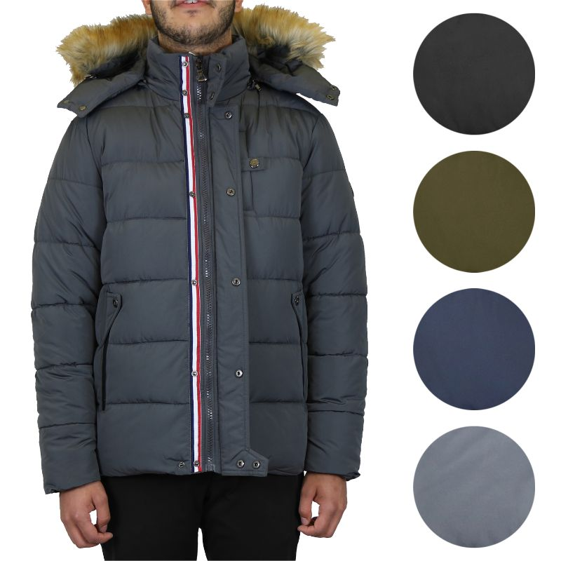 Men's Heavyweight Jacket With Detachable Hood-Daily Steals