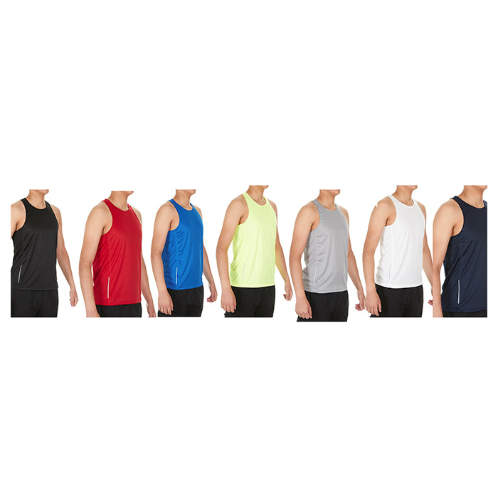 Mystery Men's Athletic Performance Tanks - 2 Pack-Daily Steals