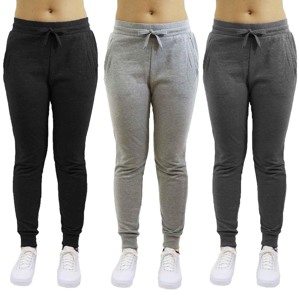 update alt-text with template Daily Steals-Women's Slim-Fit French Terry Jogger Sweatpants-Women's Apparel-Black-Small-