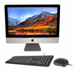 Deals on Apple iMac MC309LL/A 21.5-Inch 500GB HDD + Keyboard/Mouse Refurb