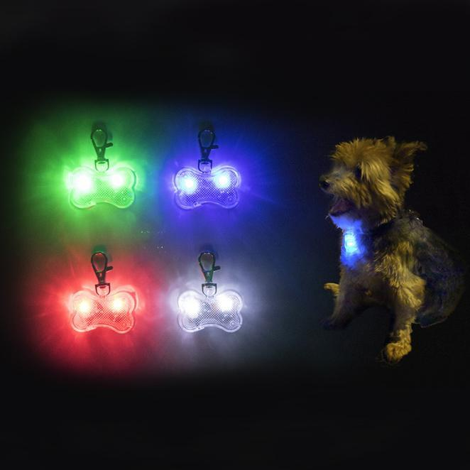 Water-Resistant LED Dog Collar Light Charm-Daily Steals