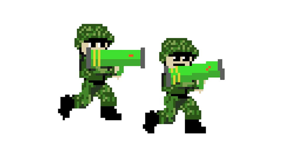 Make a Mega Dude Action Shooter Game in Unity with Pixel Art-