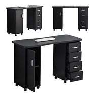 Manicure Acetone Resistant Beauty Salon Nail Station Desk-