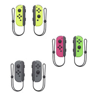 Daily Steals-Joy Con Pair L/R for Nintendo Switch-VR and Video Games-Neon Yellow-
