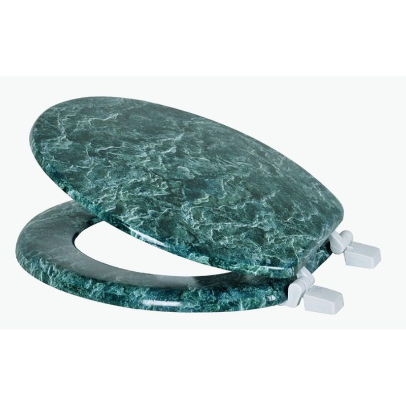 Marble Print Toilet Seats-JADE-Daily Steals