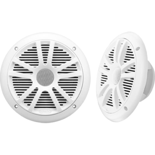 "Speakers, 6.5"" 2-Cone, 180 Watt, White By Boss Audio-Daily Steals"