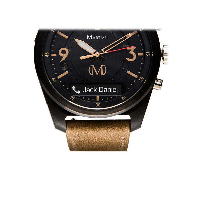 Martian mVoice Smartwatches with Amazon Alexa - Analog + Voice-Daily Steals