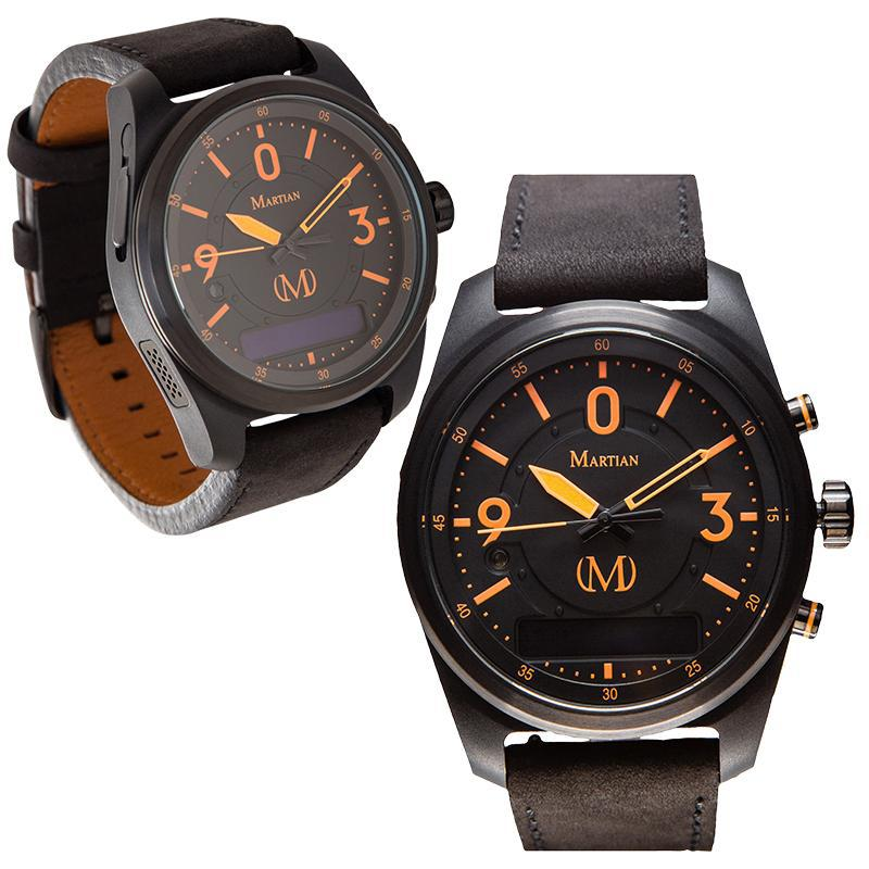 Martian mVoice Smartwatches with Amazon Alexa - Analog + Voice-PTL01-Daily Steals