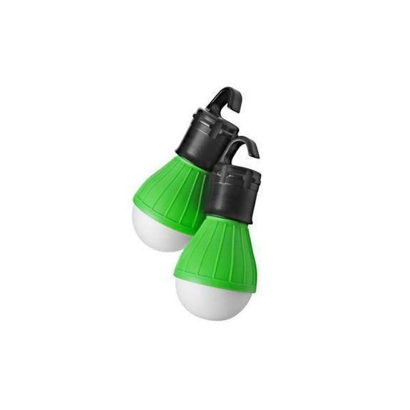 Daily Steals-Massimo Emergency Light Bulbs-Home and Office Essentials-Green-2-Pack-