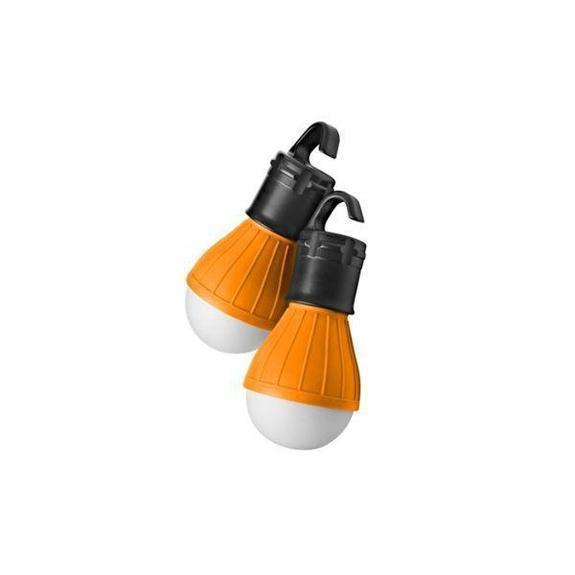 Daily Steals-Massimo Emergency Light Bulbs-Home and Office Essentials-Yellow-2-Pack-