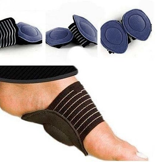 [3-Pack] Plantar Fasciitis Cushioned Arch Supports-Blue-Daily Steals