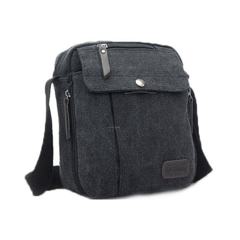 Multifunctional Canvas Bag - 6 Styles-Black-Daily Steals