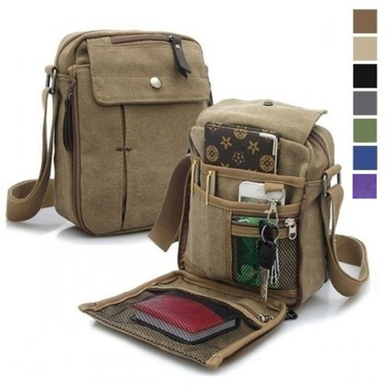 Multifunctional Canvas Bag - 6 Styles-Daily Steals