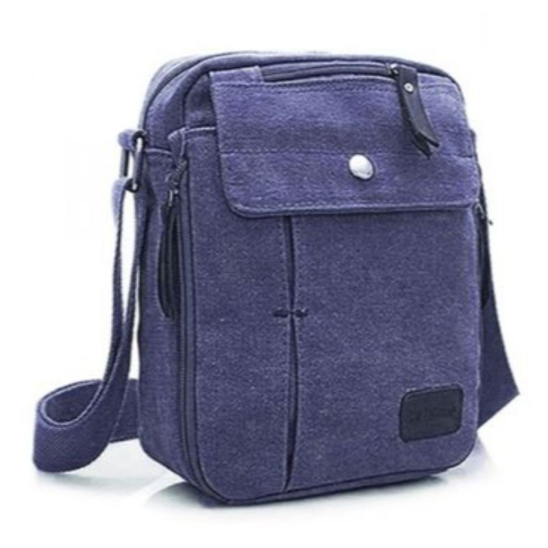 Multifunctional Canvas Bag - 6 Styles-Blue-Daily Steals