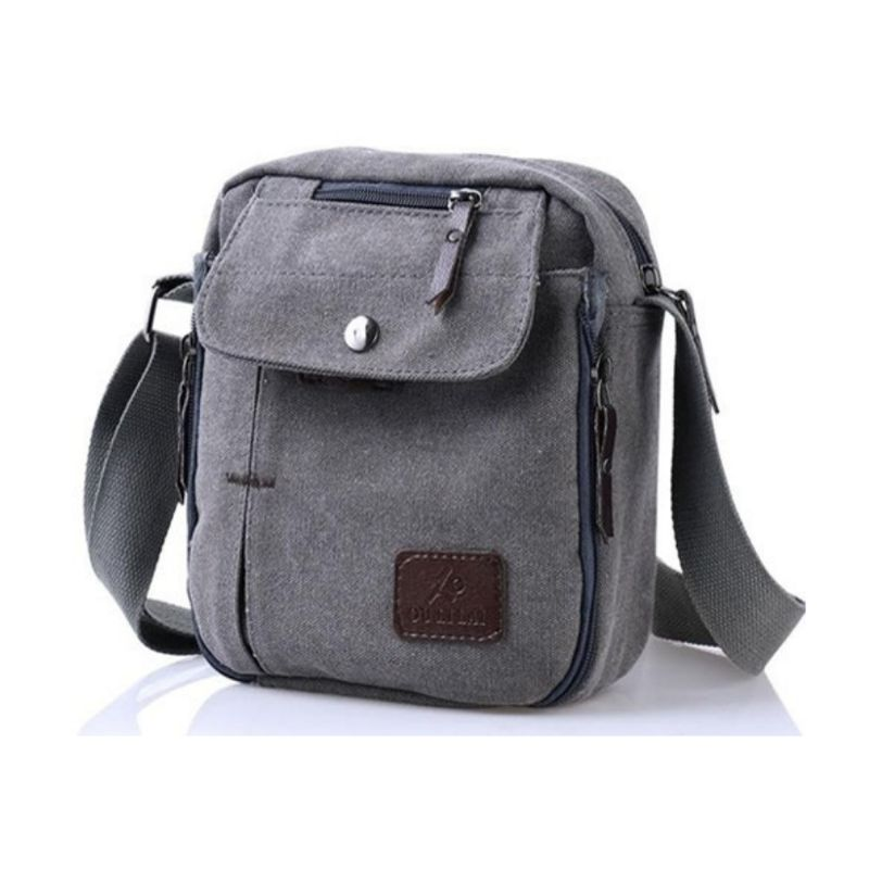 Multifunctional Canvas Bag - 6 Styles-Grey-Daily Steals