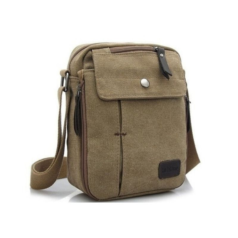 Multifunctional Canvas Bag - 6 Styles-Khaki-Daily Steals