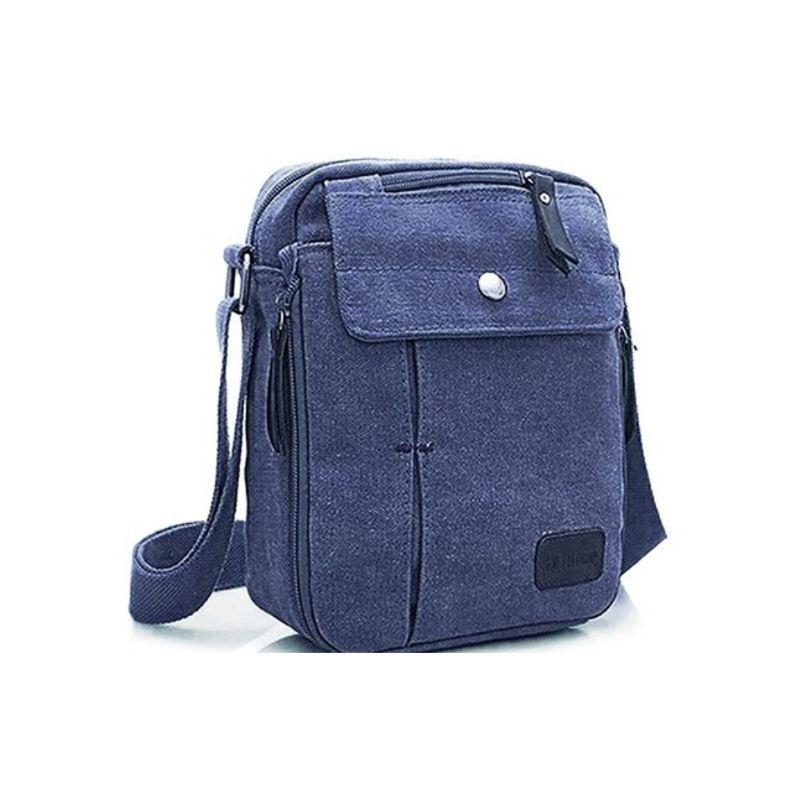 Multifunctional Canvas Bag - 6 Styles-Navy-Daily Steals