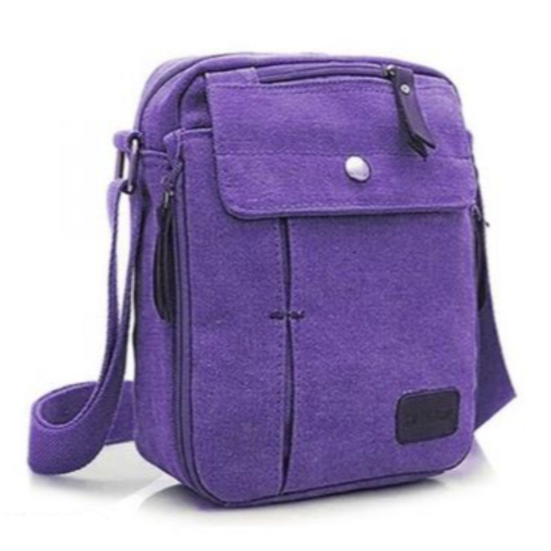 Multifunctional Canvas Bag - 6 Styles-Purple-Daily Steals