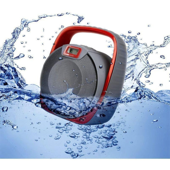 Memorex Bluetooth Waterproof Submersible Wireless Speaker-