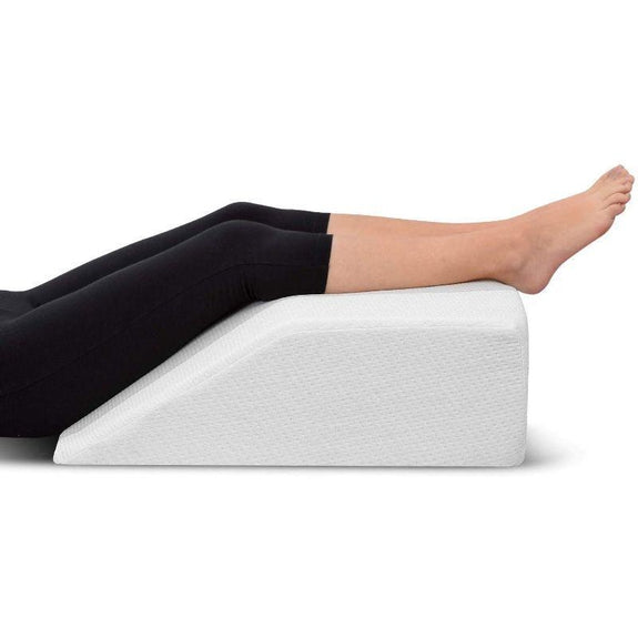 Memory Foam Topped Leg Elevation Pillow-