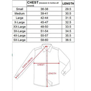 Men's Mystery Dress Shirt - Short or Long-Sleeve Options-Daily Steals