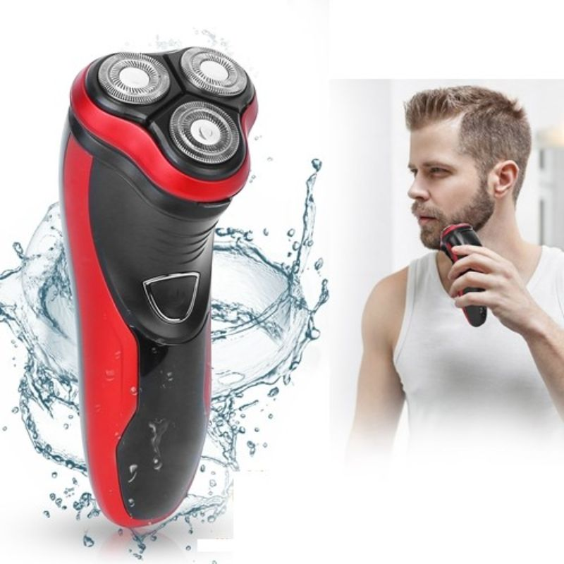 Men's Waterproof Rechargeable Electric Beard Shaver