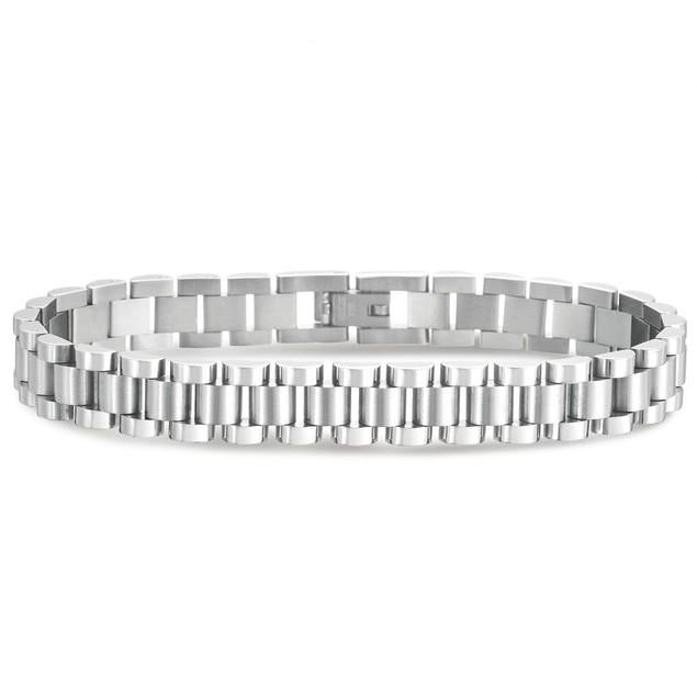 Daily Steals-Men's Designer Style Bracelet, Stainless Steel-Jewelry-