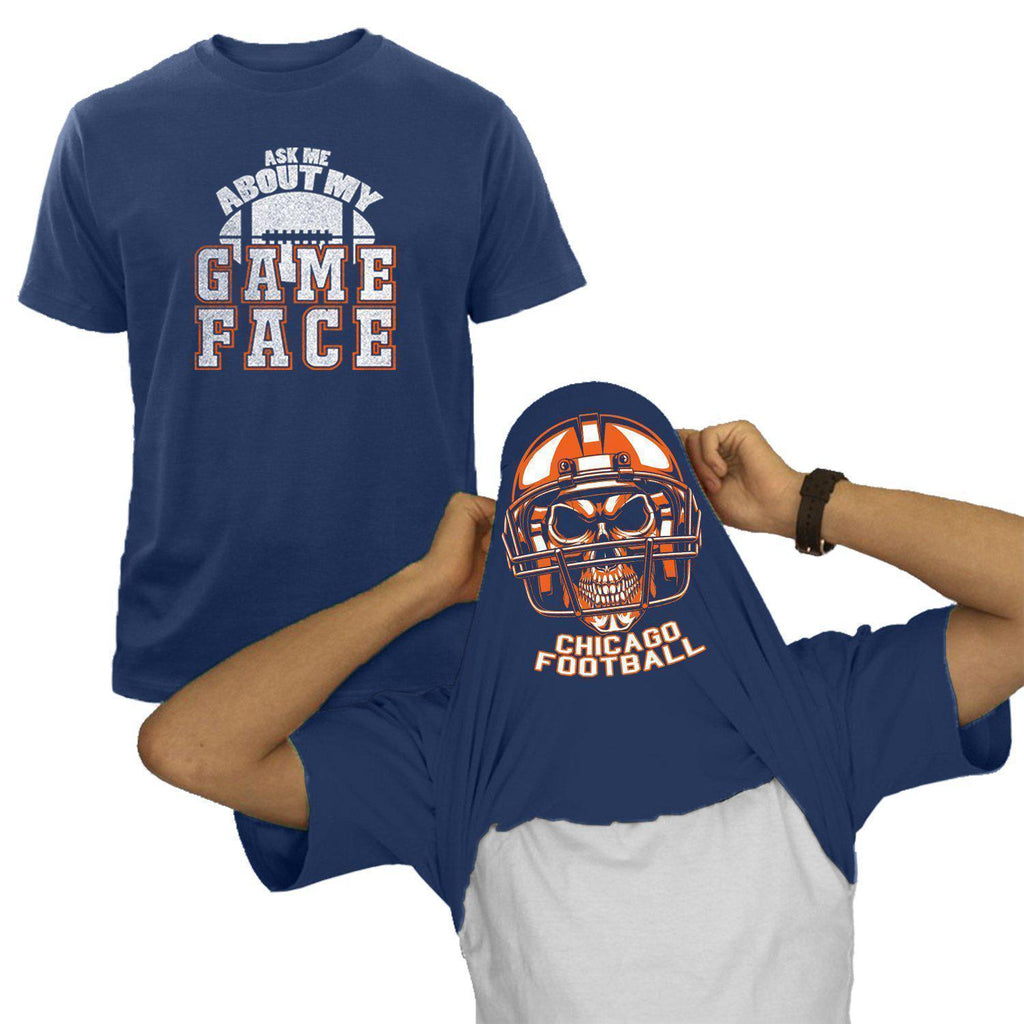 Chicago - Navy NFL Game Face T-Shirt