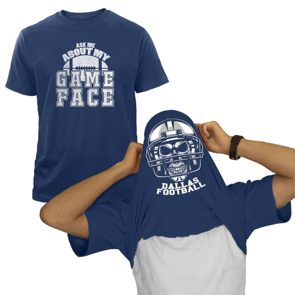 Dallas - Navy NFL Game Face T-Shirt