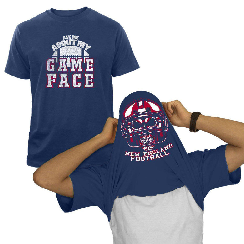 New England - Navy NFL Game Face T-Shirt