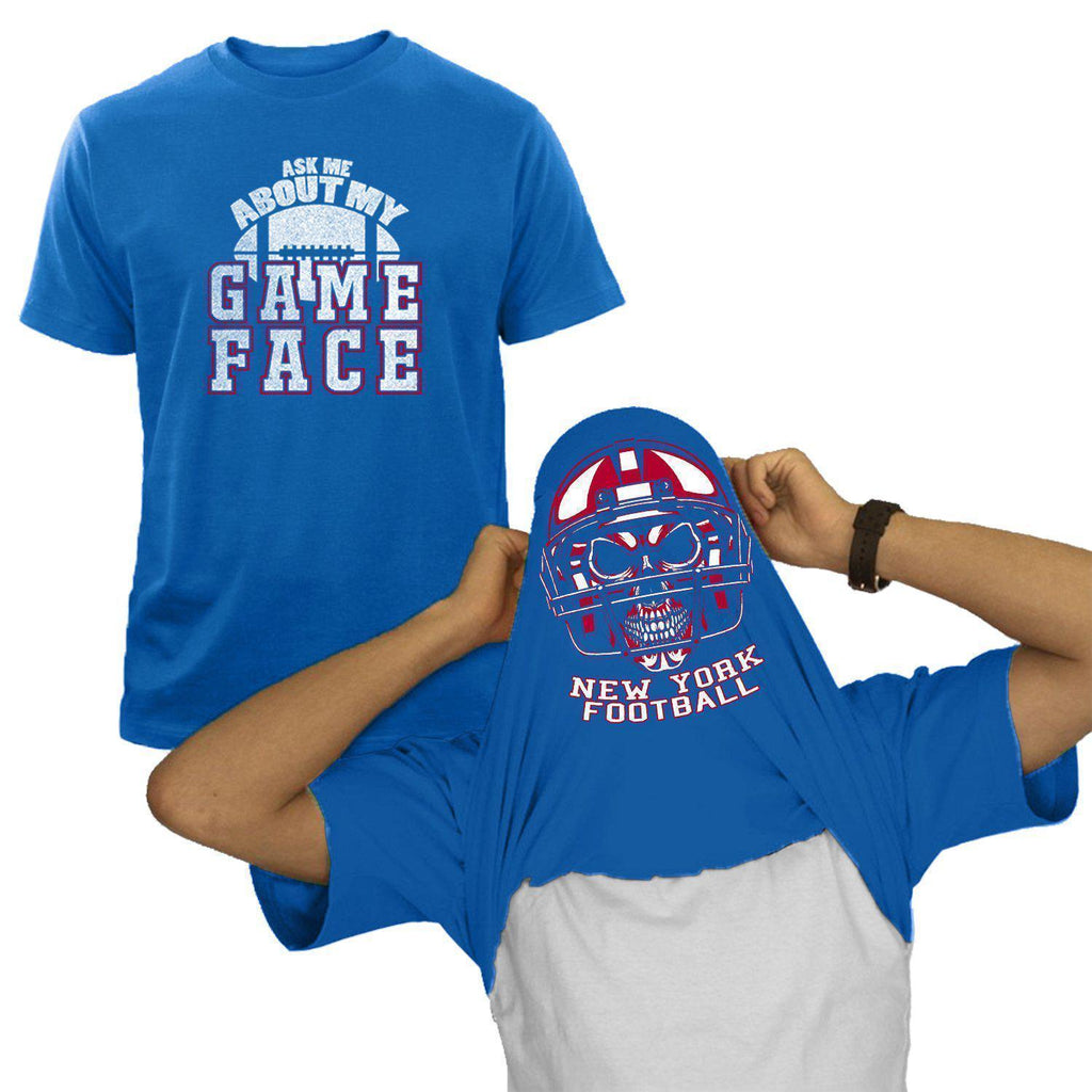 New York - Royal Blue NFL Game Face T-Shirt
