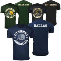 Men's Football Nation T-Shirts-S-Baltimore-