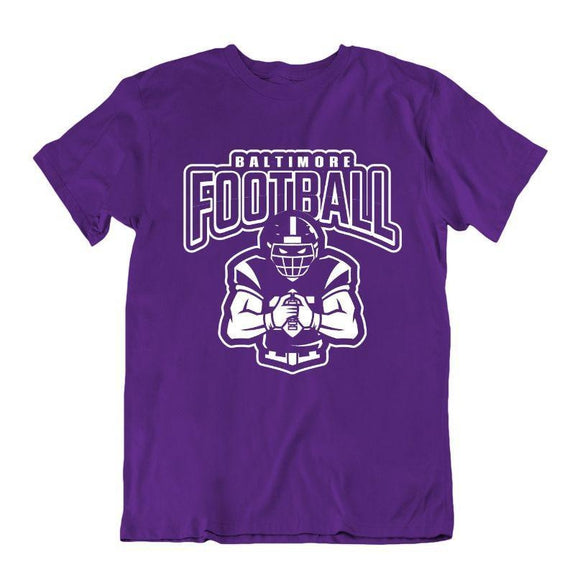 Men's Football Team T-Shirts - Sizes XL/2XL-Baltimore-XL-Daily Steals