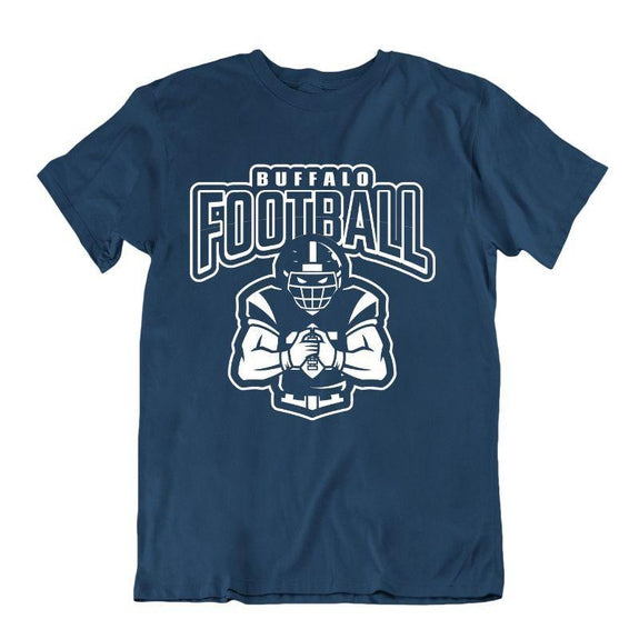 Men's Football Team T-Shirts - Sizes XL/2XL-Buffalo-XL-Daily Steals