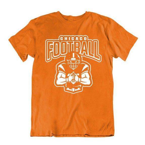 Men's Football Team T-Shirts - Sizes XL/2XL-Chicago-XL-Daily Steals
