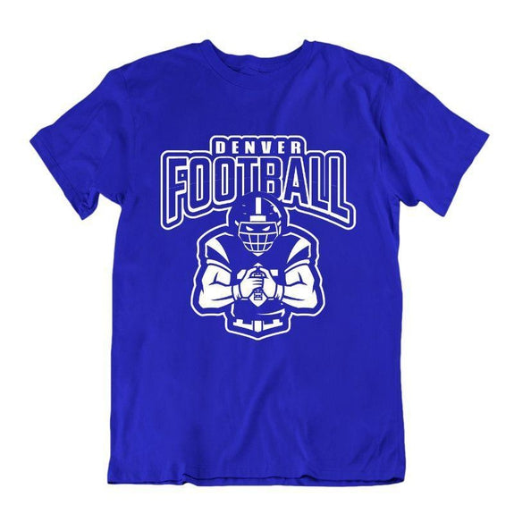 Men's Football Team T-Shirts - Sizes XL/2XL-Denver-XL-Daily Steals