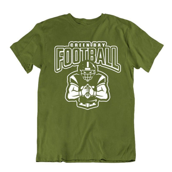 Men's Football Team T-Shirts - Sizes XL/2XL-Green Bay-XL-Daily Steals